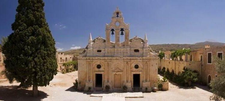 Μονή Αρκαδίου - Villas Lefkothea in Rethymno, Crete